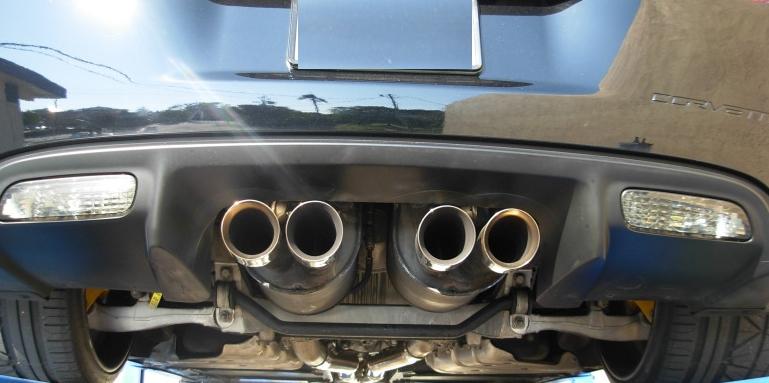 C6 Corvette Z06 Stock Exhaust