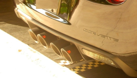 Carbon Fiber Akrapovic Exhaust Tips