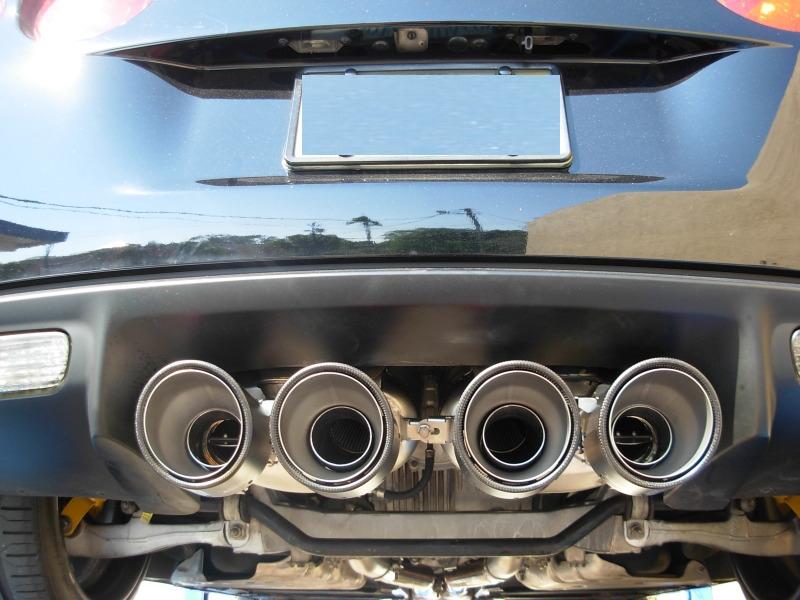 Akrapovic Corvette Exhaust tips