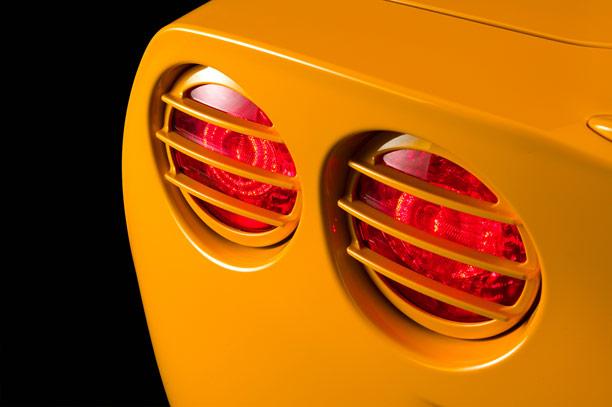 corvette tail light grills, C6 Corvette tail light grills