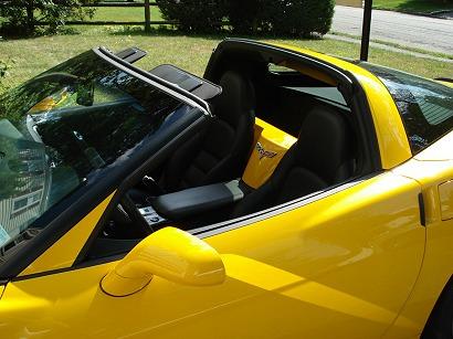 C6 Corvette Painted A-Pillar Overlay Trim
