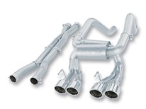 C6 Corvette z06 exhaust, borla corvette exhaust, borla exhaust system