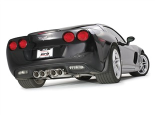 corvette exhaust system, corvette Z06 borla exhaust