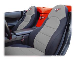 C6 Corvette seat covers, C6 and C5 Corvette seat covers, C6 Corvette  seat covers