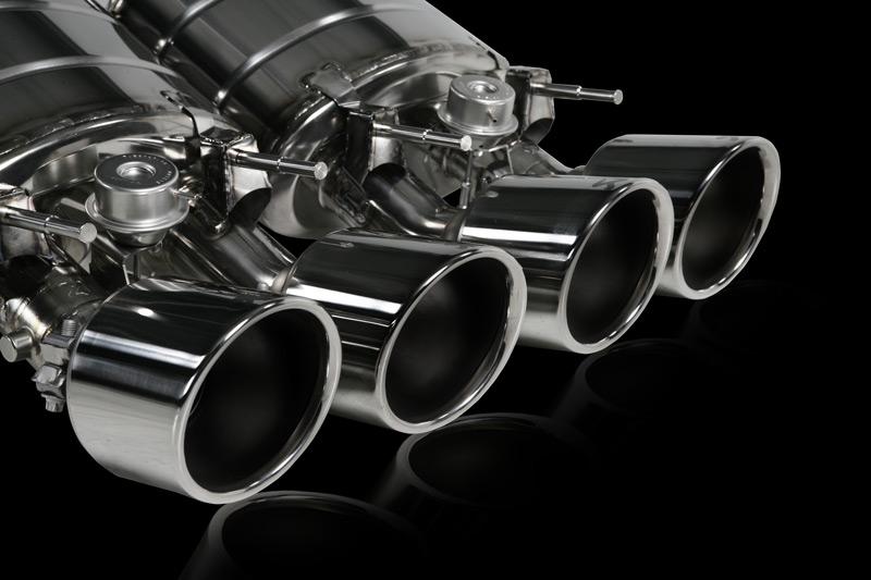 Corvette Akrapovic Exhaust