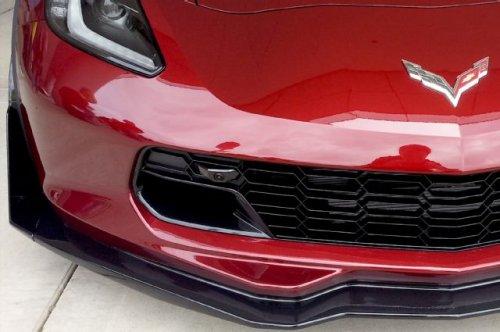 C7 Corvette Z06 Front Grille Painted or Carbon Fiber With Dual Parking Cameras