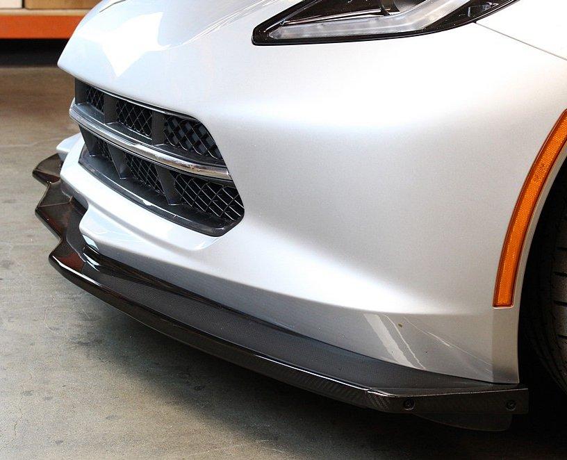 C7 APR Performance Carbon Fiber Splitter