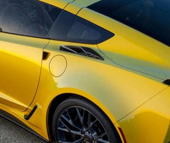 2014-2019 C7 Corvette Stingray Z06 Quarter Panel Scoops Ducts