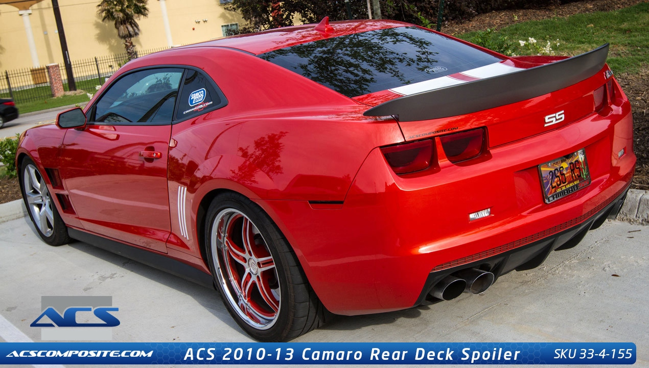 2014 2015 camaro rear spoiler z28 style autos post. Black Bedroom Furniture Sets. Home Design Ideas