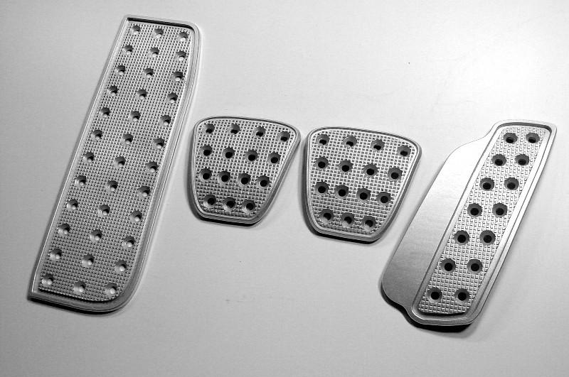 2010-2015 Camaro Aluminum Billet Grid Machined Racing Pedals
