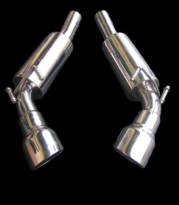 2010-2013 Camaro GHL Exhaust Mufflers