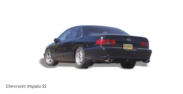 impala ss aftermarket exhaust system