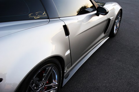 C6 Corvette  z06 side skirts