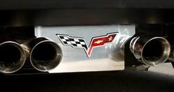 corvette exhaust plate, corvette parts