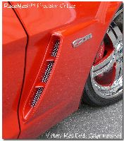 corvette racemesh grilles. corvette parts, corvette accessories