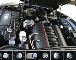 C5 Corvette Z06 Polished Aluminum Engine Caps Set