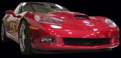 corvette body parts, corvette supercharger hood