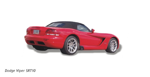 Dodge Viper SRT-10 with Billy Boat performance exhaust