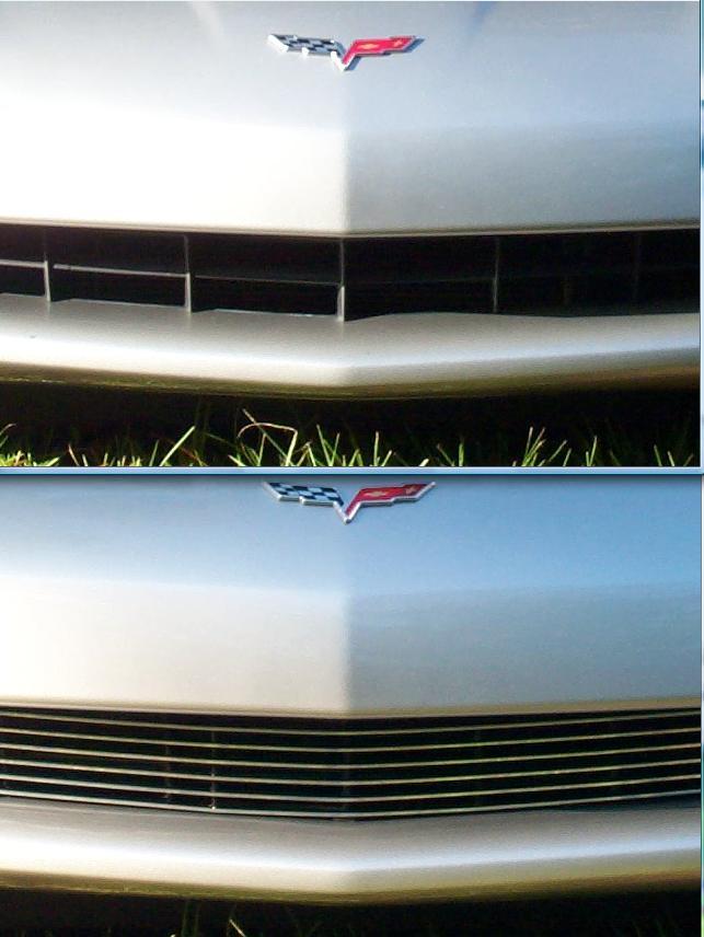 C6 2005-2013 Corvette Z06 Billet Aluminum Front Grille