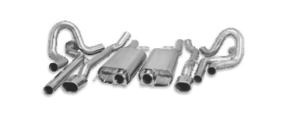 impala rear exit performance exhaust system