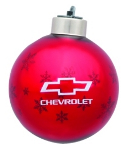 Chevrolet Bowtie Christmas Tree Ornaments - SouthernCarParts.com