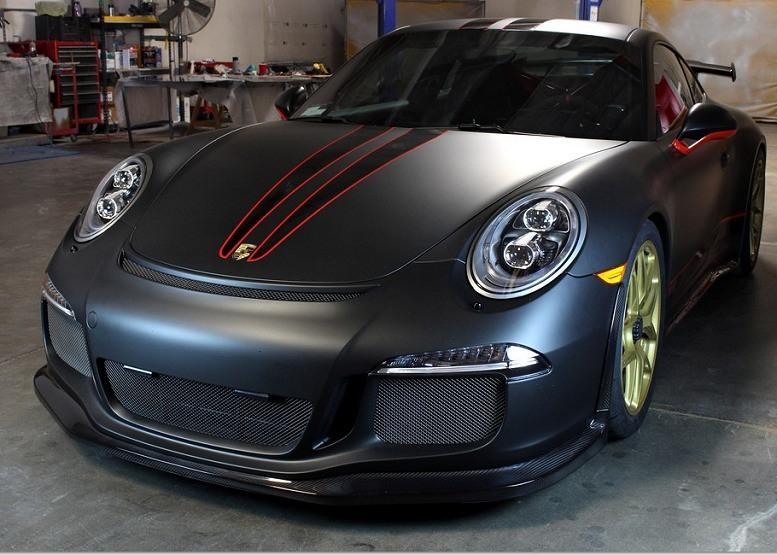Porsche GTR APR Performance Carbon Fiber Side Skirts