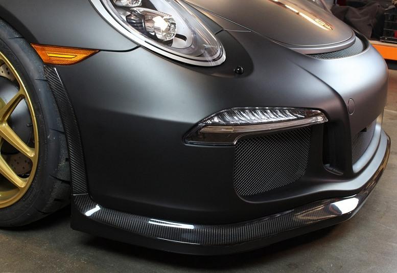 Porsche GT3 APR Performance Carbon Fiber Front Airdam Splitter