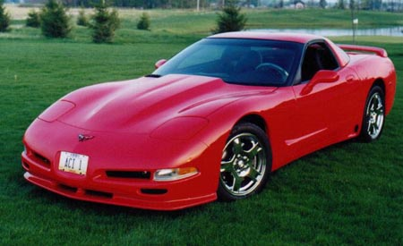 C5 Corvette #1 Choice Rear Wing