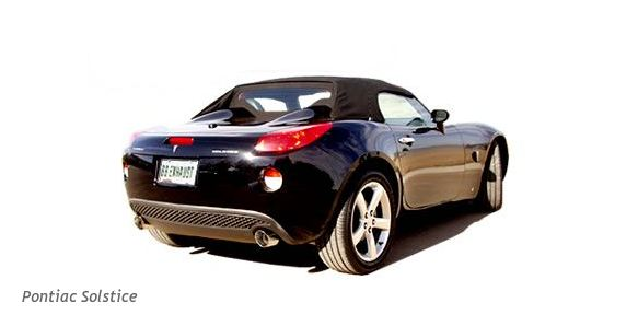 billy boat performance dual exhaust installed on the pontiac solstice